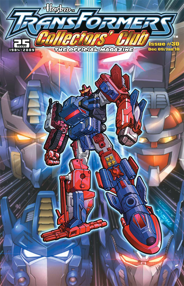 Transformers Collectors&#039; Club Magazine #30 Cover